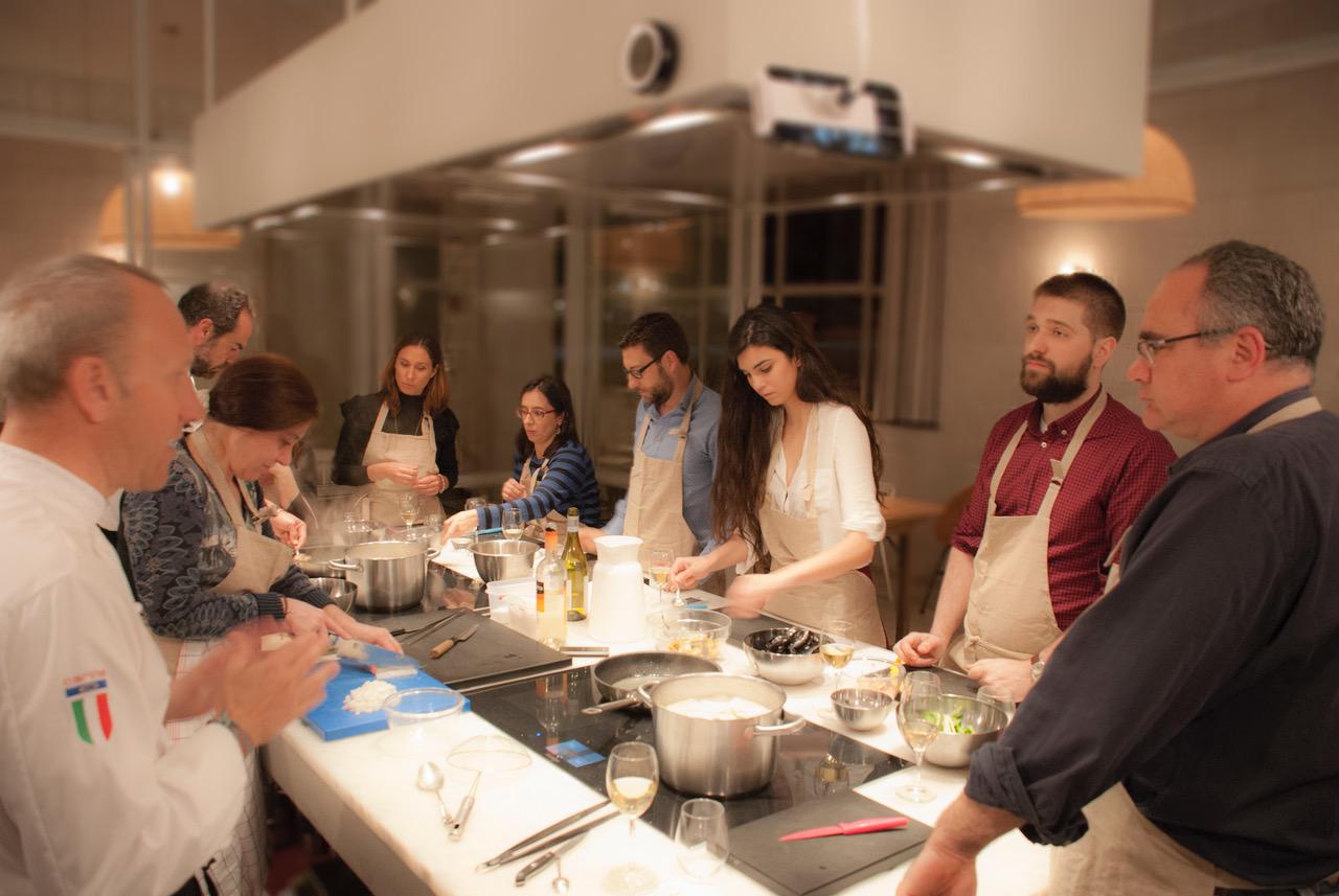 Curso de cocina italiana memoria del paladar - Curso de cocina italiana madrid ...